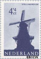 Nederland NL 786  1963 Molens 4+4 cent  Postfris