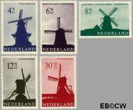 Nederland NL 786#790  1963 Molens   cent  Gestempeld