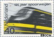 Nederland NL 819  1964 Spoorwegen 40 cent  Postfris