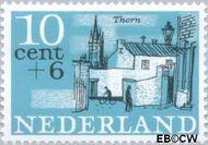 Nederland NL 843  1965 Steden 10+6 cent  Gestempeld