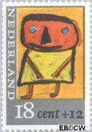 Nederland NL 851  1965 Kindertekeningen 18+12 cent  Gestempeld