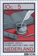 Nederland NL 859  1966 Nederlandse letterkunde 10+5 cent  Gestempeld