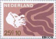Nederland NL 880  1967 Strandvondsten 25+10 cent  Gestempeld