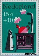 Nederland NL 895  1967 Kinderversjes 15+10 cent  Gestempeld