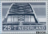 Nederland NL 904  1968 Bruggen 25+10 cent  Gestempeld