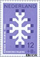 Nederland NL 927  1969 Kankerbestrijding 12+8 cent  Gestempeld