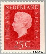 Nederland NL 939  1969 Koningin Juliana- Type 'Regina' 25 cent  Postfris