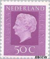 Nederland NL 945  1972 Koningin Juliana- Type 'Regina' 50 cent  Gestempeld