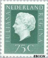 Nederland NL 949  1969 Koningin Juliana- Type 'Regina' 75 cent  Postfris