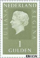 Nederland NL 952  1969 Koningin Juliana- Type 'Regina' 100 cent  Gestempeld