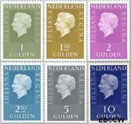 Nederland NL 952b#959b  1981 Koningin Juliana- Type 'Regina'  cent  Postfris