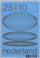 Nederland NL 968  1970 Computertekeningen 25+10 cent  Gestempeld