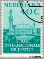 Nederland NL D41  1951 Cour Internationale de Justice 40 cent  Gestempeld