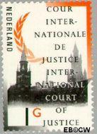 Nederland NL D54  1989 Cour Internationale de Justice 100 cent  Gestempeld