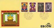 Nederland NL E131  1974 Cultuur  cent  FDC zonder adres