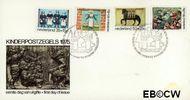Nederland NL E144  1975 Gevelstenen  cent  FDC zonder adres