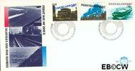 Nederland NL E186  1980 Verkeer en vervoer  cent  FDC zonder adres