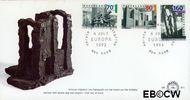 Nederland NL E311  1993 C.E.P.T.- Hedendaagse kunst  cent  FDC zonder adres