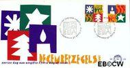 Nederland NL E330  1994 Gereduceerd tarief  cent  FDC zonder adres