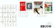 Nederland NL E332  1995 Diversen  cent  FDC zonder adres