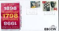Nederland NL E389  1998 Cultuur  cent  FDC zonder adres