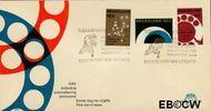 Nederland NL E52  1962 Automatisering telefoonnet   cent  FDC zonder adres
