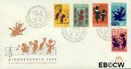 Nederland NL E60  1963 Kinderrijmpjes   cent  FDC zonder adres