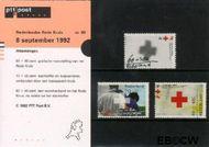 Nederland NL M99  1992 Rode Kruis  cent  Postfris