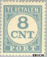 Nederland NL P73  1921 Portzegel 8 cent  Gestempeld