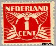 Nederland NL R1  1925 Type 'Lebeau' 1 cent  Gestempeld