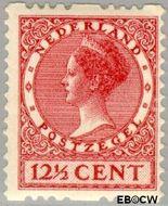 Nederland NL R11  1925 Type 'Veth' 12½ cent  Gestempeld