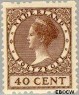 Nederland NL R16  1925 Type 'Veth' 40 cent  Gestempeld
