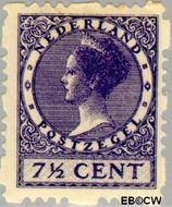 Nederland NL R42  1928 Type 'Veth' 7½ cent  Gestempeld