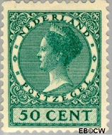 Nederland NL R70  1930 Type 'Veth' 50 cent  Gestempeld
