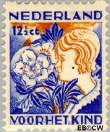 Nederland NL R97  1932 Kinderen en bloemen 12½+3½ cent  Gestempeld