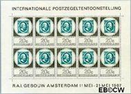 Nederland NL V886  1967 Postzegeltentoonstelling Amphilex  cent  Postfris