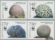 Nederlandse Antillen NA 1607#1610  2005 Wereld Natuur Fonds 149 cent  Postfris