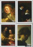 Nederlandse Antillen NA 1691#1694  2006 Rembrandt van Rijn  cent  Postfris