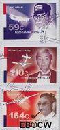 Nederlandse Antillen NA 1956#1958  2009 Luchtvaartpioniers bovenwindse eilanden 225 cent  Postfris