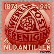 Nederlandse Antillen NA 209  1949 Wereldpostvereniging 6 cent  Ongebruikt