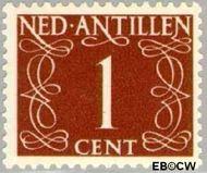 Nederlandse Antillen NA 211  1950 Type 'van Krimpen' 1 cent  Gestempeld