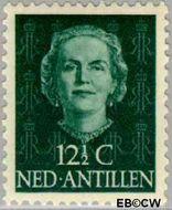 Nederlandse Antillen NA 221  1950 Type 'En Face'  12½ cent  Gestempeld