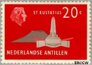 Nederlandse Antillen NA 281  1958 Landschappen 20 cent  Gestempeld