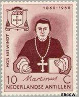 Nederlandse Antillen NA 311  1960 Sterfdag Niewindt 10 cent  Gestempeld