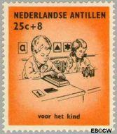 Nederlandse Antillen NA 321  1961 Kinderen 25+8 cent  Gestempeld