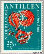 Nederlandse Antillen NA 392  1967 Nanzi-verhaal 10+5 cent  Gestempeld