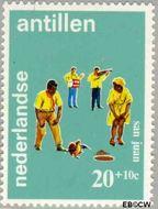 Nederlandse Antillen NA 412  1969 Folklore 20+10 cent  Gestempeld
