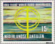 Nederlandse Antillen NA 422  1970 Zendstation Bonaire 15 cent  Gestempeld