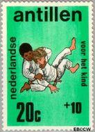 Nederlandse Antillen NA 432  1970 Activiteiten kinderen 20+10 cent  Gestempeld