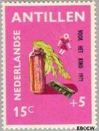 Nederlandse Antillen NA 442  1971 Speelgoed 15+5 cent  Gestempeld